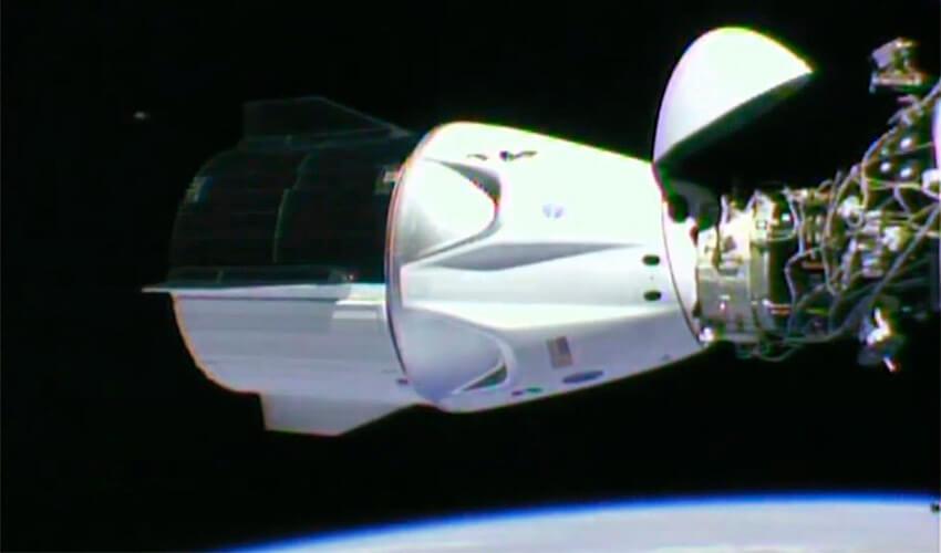 ¿Qué harán los astronautas del Crew Dragon?