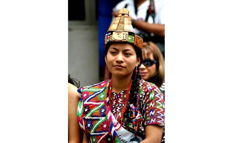 Vestimenta de los mayas