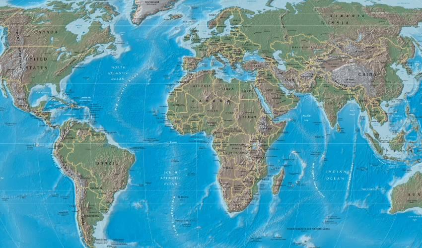 Espacio geográfico: qué es, características, componentes y tipos
